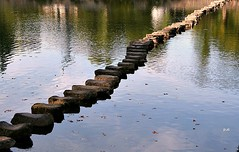 A ponte de pedras!! (puri_) Tags: rio tamega gua reflexos ponte pedras picmonkey