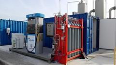Estación biometano construida por HAM