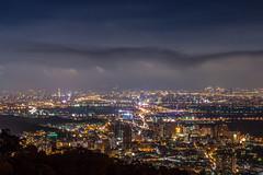 小雨中的台北夜 - Light rain in Taipei night (basaza) Tags: 夜景 30d canon 北投 復興三路