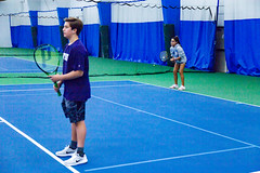 _MG_0293 (Montgomery Parks, MNCPPC) Tags: tennis tenniscourt racket indoors court teens teenagers sports recreation november 2016 class