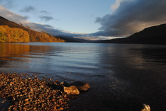 November camp at Loch Arkaig (What I saw...) Tags: loch arkaig scotland highlands