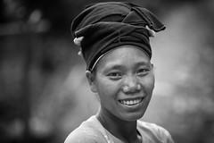 Vietnam: portrait, ethnie des Lolo Noir. (claude gourlay) Tags: vietnam asie asia indochine nordvietnam claudegourlay portrait retrato ritratti face nb bw blackandwhite