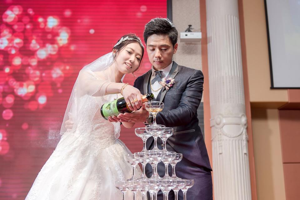 台南婚攝 婚禮紀錄 情定婚宴城堡 C & M 132