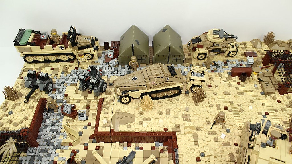 Lego Ww2 Bunker Instructions
