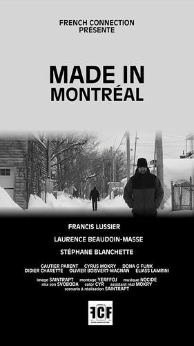 """MADE IN MONTRÉAL"" OWTFF 2016 Best Short Film Award Nominee"