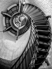 Escher's Lighthouse (nixter) Tags: daytona escher escherslighthouse fl florida lighthouse lookup lookingup ring stairs
