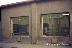 1970 Behelfsladen Schillerstrasse 47 copy (Pacific11) Tags: mnchen munich 1970 1971 vintage alt selten bilder bayern schillerstrasse 49 behelfsbauten hotel kraft