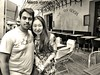 Café la Nuit, Arles (m@®©ãǿ►ðȅtǭǹȁðǿr◄©) Tags: arles provence france vangogh cafévangogh café impresionismo bar cafélesoir placeduforum terraza sillas mesas personas people monocromo bw blancoynegro olympusepl1 zuikoed14÷42mmf35÷56 cafélanuit marcovianna marcoviannafotógrafo m®©ãǿ►ðȅtǭǹȁðǿr◄©