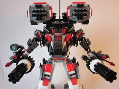 Mecha Gunner (patlacroix72) Tags: lego hard suit scifi mecha mechs