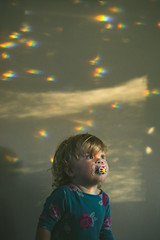 Day 216 (~ Maria ~) Tags: toddler emma august colorfullights prisms pacifier day216 2015 18monthsold mariakallin 365project minirainbows nikond800