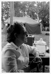 """Red Cross"" (photo_secessionist) Tags: leica portrait bw woman film analog 35mm vintage blackwhite kodak bn d76 gettysburg ww2 vintagecamera ilford fp4 1939 redcross selfdeveloped pensylvania leitz warweekend fakevintage leicaiiia eisenhowerfarmnhs elmarf355cmlens"