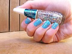 Esmaltao das Corujas! Azul com Disco Ball :D (Rassa S. (:) Tags: azul glitter nails impala nailpolish unhas corujas holo safira esmalte