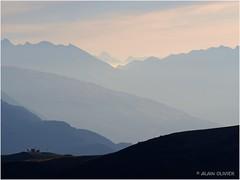 Au loin le col du Petit Saint Bernard