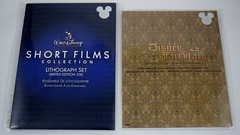 Disney Short Films Collection Lithograph Set and Disney Fairytale Designer Collection Lithograph Set - D23 Expo 2015 Exclusive - Disney Store Purchases - Unopened - Front View (drj1828) Tags: set expo disney limitededition exclusive lithograph 2015 le2000 le300 waltdisneyanimationstudios disneyfairytaledesignercollection
