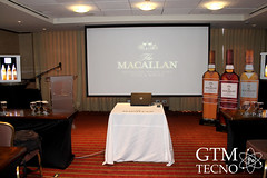Presentación de whiskies The Macallan en Guatemala