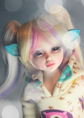 new girl ;-) (zinery) Tags: ball asian doll skin sweet soul bjd normal abjd paulette default jointed faceup souldoll jolmang