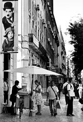 (mgkm photography) Tags: urban blackandwhite bw blancoynegro portugal monochrome 50mm calle lisboa lisbon streetphotography gimp streetphoto rua pretoebranco streetshot urbanphotography shotwell fotografiaurbana nikonphotography opensourcephotography ilustrarportugal d7000 streettogs lisbonarua