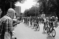 Cycling (Jasper Pol) Tags: bw white black france film me analog de cycling utrecht tour pentax super 400 fujifilm neopan micha kwiatkowski