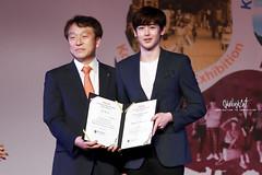 Nichkhun at Korea culture&travel festival (OkBlackCaT) Tags: festival korea ambassador brand 2pm officially culturetravel nichkhun 151002