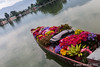 The flower seller calls every morning (Janet Marshall LRPS) Tags: flowers kashmir srinagar flowerseller lrps nageenlake flowerboat