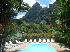 Zwembad bij Elephant Hills