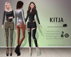 KITJA - Vanda Outfit (ᴋɪᴛᴊᴀ) Tags: life mesh second vanda standard sizes fitted maitreya slink kitja