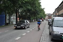 Sykkelfelt Kjpmannsgt. 0020 (Miljpakken) Tags: trondheim rdt sykling bymilj gatemilj miljpakken syklister bygate bytransport bytrafikk miljopakken sykkelveg sykkelanlegg bysykling