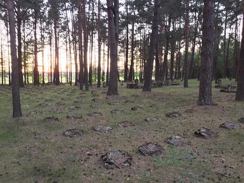 The WWI German Cemetery Near Naroch