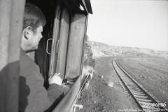 2015/1/4 JS8190 Sandaoling (Pocahontas®) Tags: railroad bw film kodak engine rail railway loco steam locomotive tmax400 135film sandaoling js8190