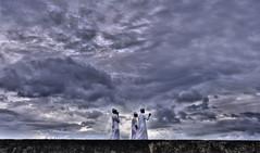 Among the clouds (Saint-Exupery) Tags: sky nikon candid cielo srilanka galle robado dutchfort
