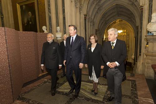 Indian Prime Minister visits Parliament – 12 November Flickr set