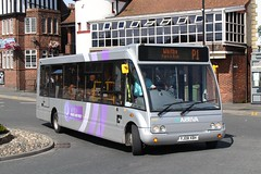 Optare Solo (DennisDartSLF) Tags: bus solo whitby parkandride arriva optare 2828 arrivadurhamcounty yj08xbh