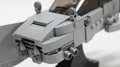 Q-Viper Grille (John Moffatt) Tags: car james doors martin lego suicide chrome spy bond vic spaceship viper aston 007