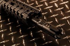 Accurate Armory muzzle break and Centurion CMR Rail (S.Dobbins) Tags: rail armory comp ar15 accurate centurion cmr 556 compensator
