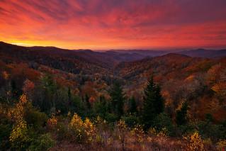 Deep Creek Overlook, Great Smoky Mountains National Park