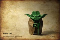 Yoda (valitrenta) Tags: origami yoda sandwich master kawahata