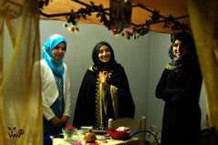 le ragazze islamiche