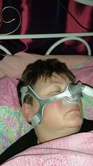 My nasal mask for the treatment of Obstrustive sleep Apnea (Carol B London) Tags: sleeping for mask sleep masked nasal osa treatment sleepapnea my wearingamask nasalmask obstrustivesleepapnea
