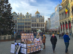 Brussel / Brussels, Belgium (PaChambers) Tags: christmas city winter brussels urban europe december belgium capital historic brussel goldenhour 2015