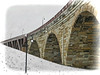 STONE ARCH BRIDGE, 1883, over the Mississippi River...Minneapolis MN (strandviewphotos) Tags: mississippiriver stonearchbridge minneapolismn top20bridges
