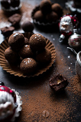 Salted Peanut Butter Caramel Chocolate Truffles (Good Food and Great Places to Eat) Tags: chocolate caramel butter peanut truffles salted