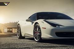 Ferrari 458 Italia - Vorsteiner V-FF 105 Wheels (Vorsteiner) Tags: design italian wheels style ferrari tuning tuned customization vorsteiner ferrari458italia flowforged