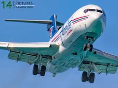 Boeing 727F (Green 14 Pictures) Tags: outdoor aviation machine boeing sintmaarten avgeek amerijet 727f freigther avporn