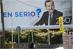 JORNADA DE REFLEXION (LAGRAJA) Tags: calle rajoy stree capitalismo pp vaya politica elecciones campaa