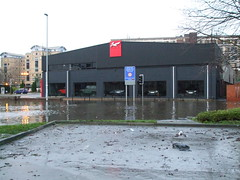 Flooding in Leeds #2 (VAGDave) Tags: design flooding december day flood leeds kahn boxing 27th 26th 2015