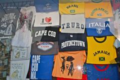 Window in Provincetown on Cape Cod, Massachusetts (Kathleen Leonore) Tags: provincetown capecod massachusetts souvenir tshirts teeshirt beachtown touristshop gaymecca