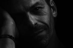 Lost Tears. (Grf: f the pp) Tags: i me portrait self blackandwhite photoshopcc lightshadows lightroom