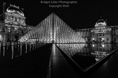Louvre Museum and It's Reflection at Night Black and White - Musee du Lovre (Bridget Calip - Alluring Images) Tags: architecture blackandwhite city culture dramatic dusk europe evening exterior france illuminated louvre museum night old paris sky summer sunrise sunset traditional travel water art attraction background building cityscape contemporary copyspace copyrighted destination destinations european famous fountain french glass golden heritage historic historical hour illumination landmark light mirror modern monument moody nightscapes nobody outdoor palace panoramic place pond pyramid reflection scene sightseeing tourism tourist touristic twilight unesco urban view usa