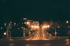 20790028 (greenishmagpie) Tags: praktica mtl5b film analog czech republic ceska republika prague praha night city lights