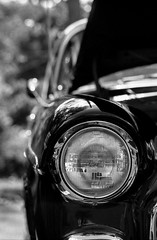 Classic on Classic 2 (The Stugots) Tags: car show ilford hp5 plus 400 1600 nikon fm2n 85mm f18 lens developed hc110 asa iso film 35mm nikkor 18d black white bnw bw monochrome retro